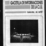 GACETILLA CIU Julio 1987