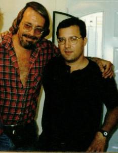 Guillermo Roncoroni (izq.) y Alejandro Agostinelli