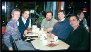 Reunión con los amigos que dejó el CAIRP (1998).