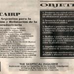 Páginas de El Ojo Escéptico (1991).