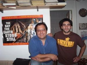 Alejandro Agostinelli con Diego Zuniga (2000)