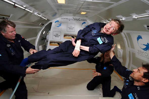 Finíshela con el circo Sr. Hawking