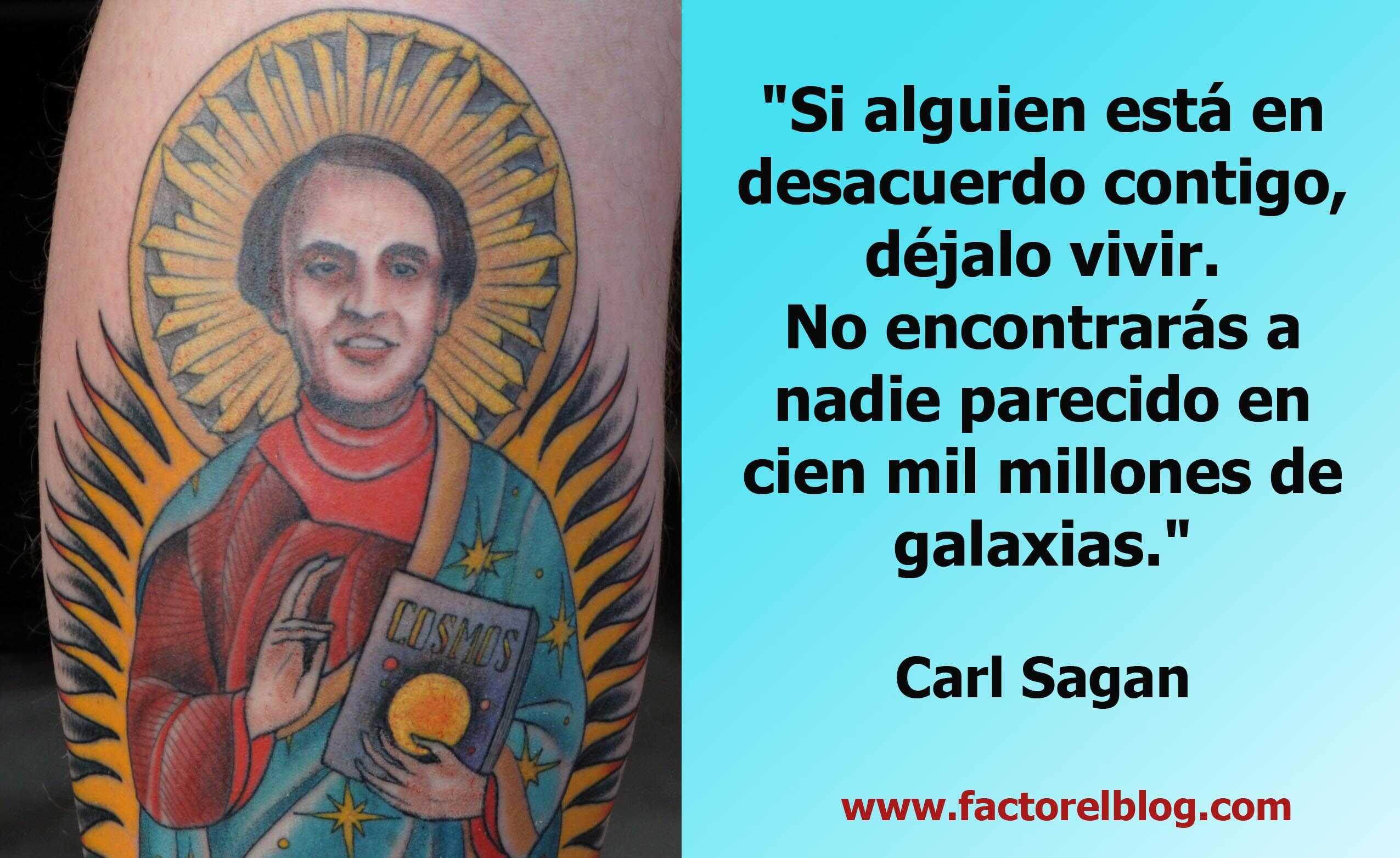 Carl Sagan 22 Ideas Impactantes Factor El Blog El Blog