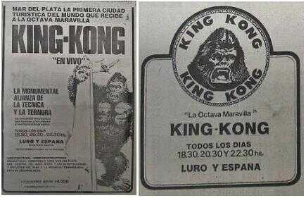 Kong en Mar del Plata