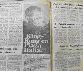 Kong en plaza Italia