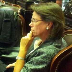 Paula Urroz, diputada Pro sueña acabar con todo de un plumazo.